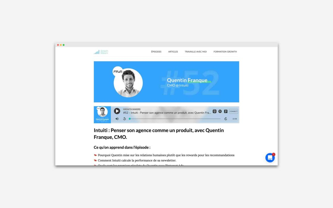 Quentin Franque Growth Makers
